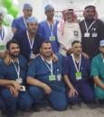 بالصور .. مستشفى الملك فهد ينظم عدة مبادرات تضامنًا مع اليوم العالمي للتطوع