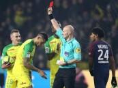 إيقاف حكم في الدوري الفرنسي بسبب طرده للاعب نانت .. شاهد سبب الطرد !