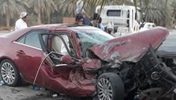 """تلفيات كبرى بحادث دوار """"المشرفة"""" بالمبرز و""""إصابة واحدة"""""""