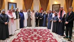 بالصور.. وفد إعلامي سعودي يلتقي كبار المسؤولين بالعراق