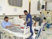 """أكثر من 280 مشارك بحملة التبرع بالدم في """"الفضول"""""""
