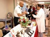 """يوم """"الدفاع المدني"""" في مستشفى الإمام عبدالرحمن بن فيصل في الدمام"""