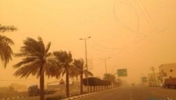 """""""الأرصاد"""" تحذر من تأثر الرؤية الأفقية في عدد من المناطق بسبب الرياح المثيرة للأتربة"""