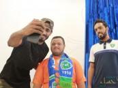 """بالصور… بحضور نجوم الفتح فعاليات خاصة بمتلازمة """"داون"""" بثانوية عبدالله بن سلام"""