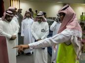 """بالصور.. ثانوية """"سعد بن عبادة"""" تقيم معرض """"الدفاع المدني"""""""