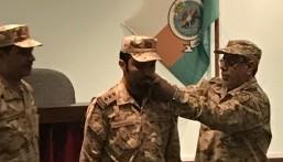 """عبيد """"الدوسري"""" إلى رتبة نقيب بالحرس الوطني"""