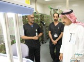 """الدكتور """"القناوي""""يدشن وحدة رعاية الحيوان في """"جامعة الملك سعود الطبية"""" بالأحساء"""