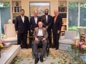 """بالصور.. ولي العهد يزور رئيسي أمريكا الأسبقين """"بوش الأب وجورج الابن"""""""