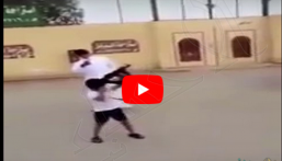 """القبض على مصور مقطع """"طفل يطلق النار من سلاح رشاش"""""""