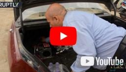 شاهد… عراقي يصنع سيارة تعمل بطريقة غير مألوفة !!