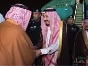 بالصور.. خادم الحرمين يصل الرياض قادماً من المنطقة الشرقية