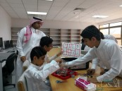 مركز الموهوبين بالمُبَرَّز يشارك في إفتتاح مجمع الجبر التعليمي بالأحساء
