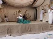 """بالصور… معرض """"حكاية يدي"""" في السعودية الثانوية"""