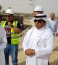 """بالصور.. """"آل الشيخ مبارك"""" يتابع حجم الإنجاز بمشاريع """"الري"""" في الأحساء"""