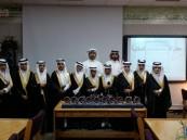 أمين المكتبة بإبتدائية عمار بن ياسر  يكرم طلاب جماعة المكتبة