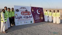 """بمشاركة 100 متطوع.. """"العيون التطوعي"""" يستعد لتوزيع أكثر من 15 ألف وجبة إفطار"""