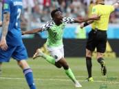نيجيريا تتغلب على ايسلندا وتُبقي حظوظ الأرجنتين في التأهل
