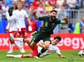 التعادل الايجابي يحسم مواجهة الدنمارك واستراليا