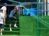 """#نيمار يغادر التدريب وهو """"يعرج"""".. وجماهير #البرازيل تحبس أنفاسها"""