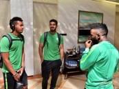 بعد انتهاء المشاركة في المونديال بعثة المنتخب السعودي تصل الرياض