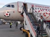 شاهد بالصور.. المنتخب السعودي يصل إلى موسكو