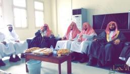 """بحضور الشيخ """"الحواس"""".. المحكمة الجزائية بالأحساء تعايد منسوبيها"""