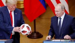 الاستخبارات الأمريكية تفحص الكرة التي قدّمها بوتين هدية لترامب