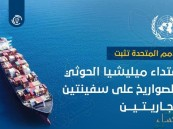 الأمم المتحدة تثبت اعتداء ميليشيا الحوثي بالصواريخ على سفينتين تجاريتين