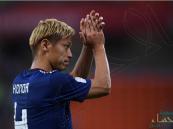 هوندا يعتزل اللعب مع اليابان بعد الخروج المؤلم