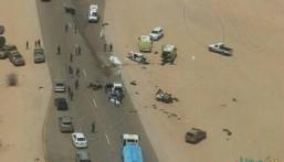 بالصور.. حادث مُروع يسفر عن وفاة وإصابة 12 سعودياً في عُمان و السفارة تُعلّق على الحادث