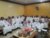 بالصور.. مجلس المقيبل يستقبل المهنئين بالعيد