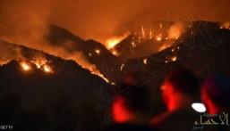 """""""الجحيم الأميركي"""" يستعر.. والحرائق تلتهم 1.6 مليون فدان"""