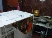 """بأكثر من ٧٠ ألف ريال.. """"العيون الخيرية"""" تقدم ٥٧ جهاز كهربائي لـ ٣٣ أسرة"""