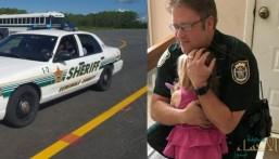 شاهد.. تركت طفلتها بسيارة شديدة السخونة والشرطة تتدخل في اللحظات الأخيرة!!