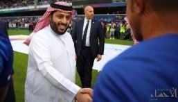 آل الشيخ: الجمهور سيتابع الدوري السعودي مجاناً