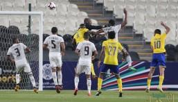 أحمد موسى يقود النصر للفوز على الجزيرة الإماراتي