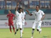 بالصور .. دورة الألعاب الآسيوية : أولمبي منتخب القدم يكسب ميانمار بثلاثية نظيفة