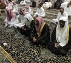 """بالصور… أهالي حي """"محاسن ارامكو""""  يؤدون صلاة عيد الأضحى المبارك"""