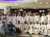 منسوبي مستشفى الأمير سعود بن جلوي يُهنئون المرضى بعيد الأضحى المبارك