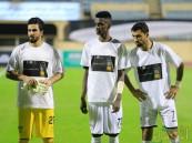 """بالصور .. لاعبو هجر يرتدون قمصاناً """"الاحساء موقع تراث عالمي"""""""