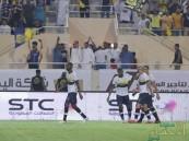 """بالفيديو .. النصر يتفوق على القادسية بهاتريك """"أحمد موسى"""""""
