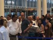 مسافر في مطار بيروت: تحتاجون مثل محمد بن سلمان يقطع فسادكم بحد السيف