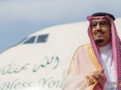 بالصور… خادم الحرمين يصل الرياض قادماً من المدينة المنورة