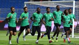 """بالصور.. لاعبو """"الأخضر"""" ينتظمون في """"معسكر الرياض"""" استعداداً لكأس آسيا"""