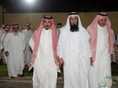 """بحضور الشيخ """"بن علمان"""" .. """"الحراجين"""" تحتفي بزفاف ابنها """"نايف"""""""