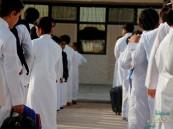 """بالصور.. """"الانضباط"""" في مدارس الأحساء 99.9% واستعدادات حثيثة لتلبية احتياجات الطلاب"""