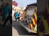 """""""الدفاع المدني"""" يكشف ملابسات حريق مبنى """"الأحوال المدنية"""" بالدمام"""