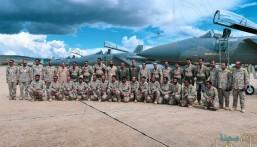 اكتمال وصول طائرات القوات الجوية السعودية المشاركة في المناورات الجوية السعودية التونسية