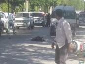 شاهد.. انتحارية تفجر نفسها وسقوط 9 جرحى بالعاصمة التونسية