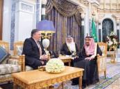 """بالصور… """"بومبيو"""" يشكر """"الملك سلمان"""" على شفافية التحقيق بقضية """"خاشقجي"""""""
